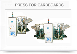 PRESS FOR CARDBOARDS